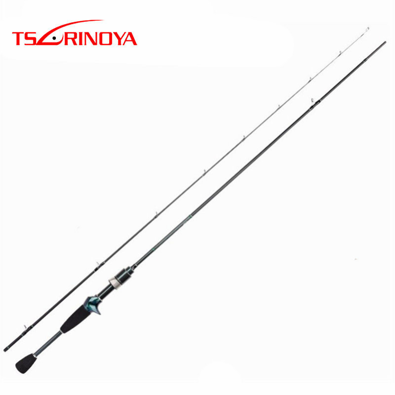 TSURINOYA DEXTERITY C722UL 2.16m/7'2'' Carbon Casting Rod Fast Action Lure Weight 1-5g Rod Ca A De Pescar Fishing Tackle