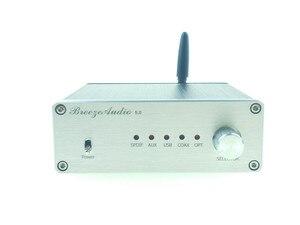 Image 1 - AK4493 AK4493EQ AK4118 Audio HIFI DAC + XMOS XU208 soporte USB óptico coaxial Bluetooth 5,0 entrada al mejor precio