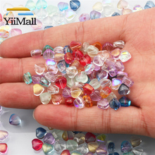 6mm misto AB perle di fiori di vetro perline di vetro ceco per gioielli che fanno trovare accessori gioielli fatti a mano fai da te