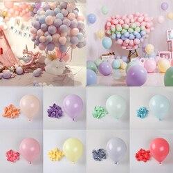 30 pçs 5/12 polegada macarons látex ballon decorações da festa de aniversário do casamento pastel doces balão crianças chuveiro do bebê hélio globos de ar