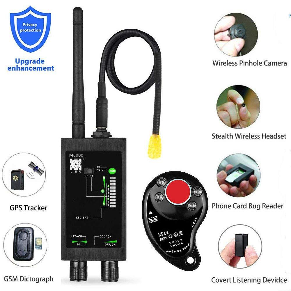 1MHz-12GH радио анти-шпионский детектор FBI GSM радиочастотный сигнал авто трекер детекторы GPS трекер поиска ошибка с длинной магнитной светодиодн...