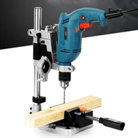 Electric tool accessories desktop drilling machine vertical pliers electric drill base DIY tool press hand drill bracket