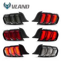 VLAND de la lámpara de cola de la Asamblea para Ford Mustang 2015-2020 luz de la cola con secuencial intermitente trasero luces Plug and Play