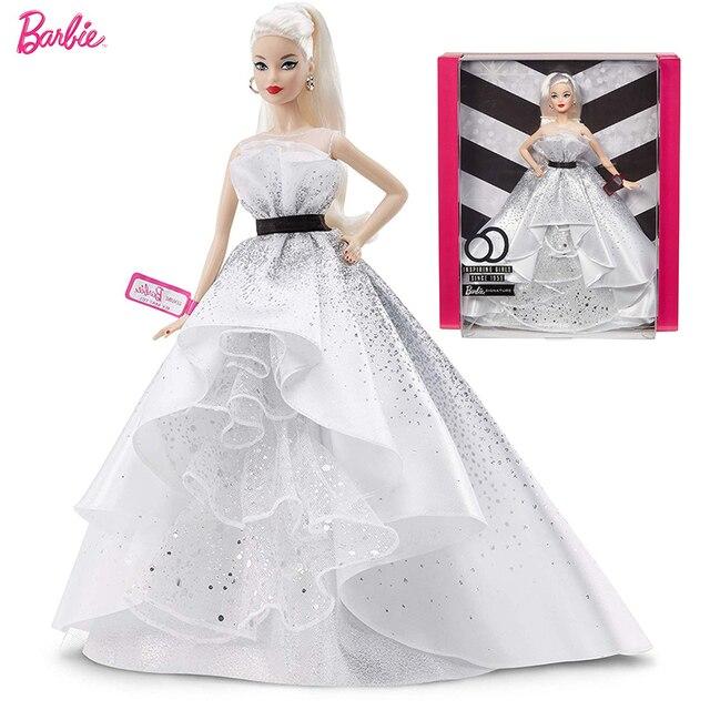 Оригинальные куклы Барби ограниченный внешний вид с одеждой женская принцесса вдохновляющая Барби коллекционные игрушки для девочек подарки на день рождения