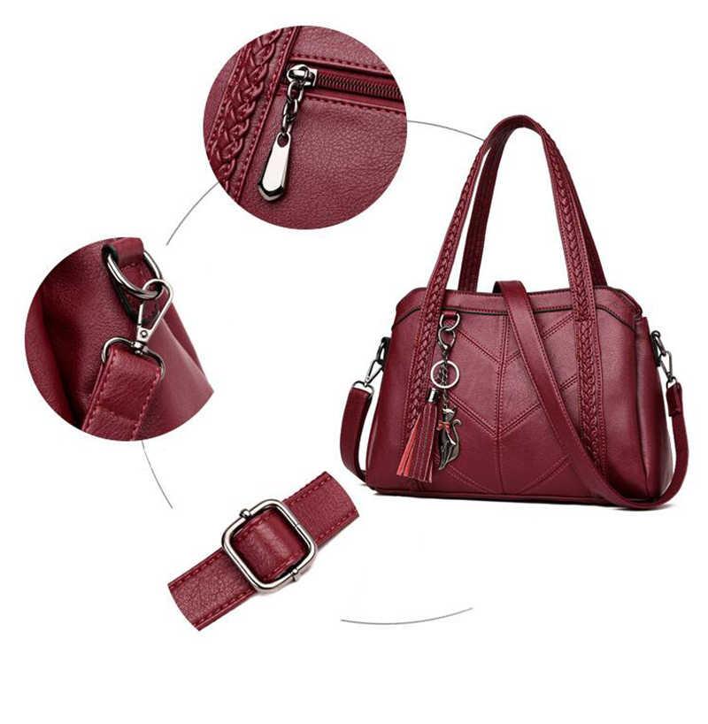 Luksusowe torebki damskie torebki projektant Tassel Weaven skórzana torebka damska o dużej pojemności crossbody na ramię Hobo torebka Tote