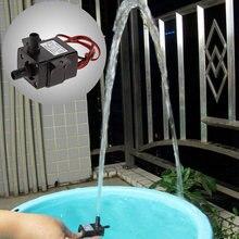Погружной водяной Электрический насос 12 В постоянного тока