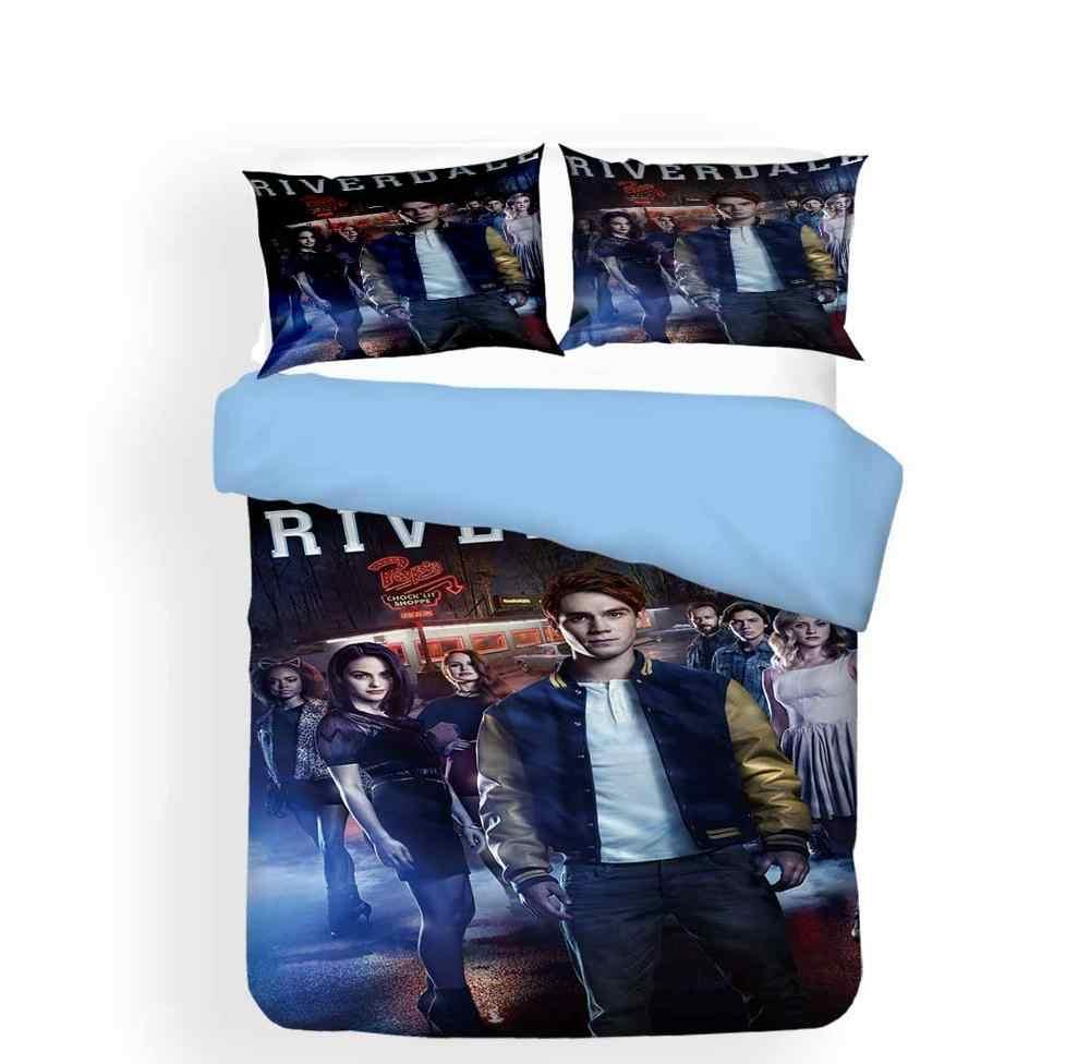 Bizarre Films Beddengoed Sets Riverdale Trooster Cover Kussensloop Enkel Dubbel Volledige Queen King Size Slaapkamer Decor Bed Linnen Set