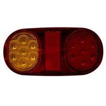 1 пара 12 В светодиодный фонарь индикатор остановки лампы с номерным знаком свет для автомобиля Грузовик Прицеп Лодка автобус Авто продукт