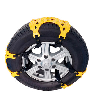 Image 3 - Car Tire Snow Chains TPU Thickening Universal Emergency Skid Chain Exterior Winter    Tyres Chains For Car SUV Truck Accessories