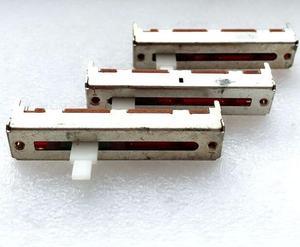 2 шт./лот 5 см ALPS-переключатель 50 мм смеситель A20K 3-контактный прямое скольжение потенциометр