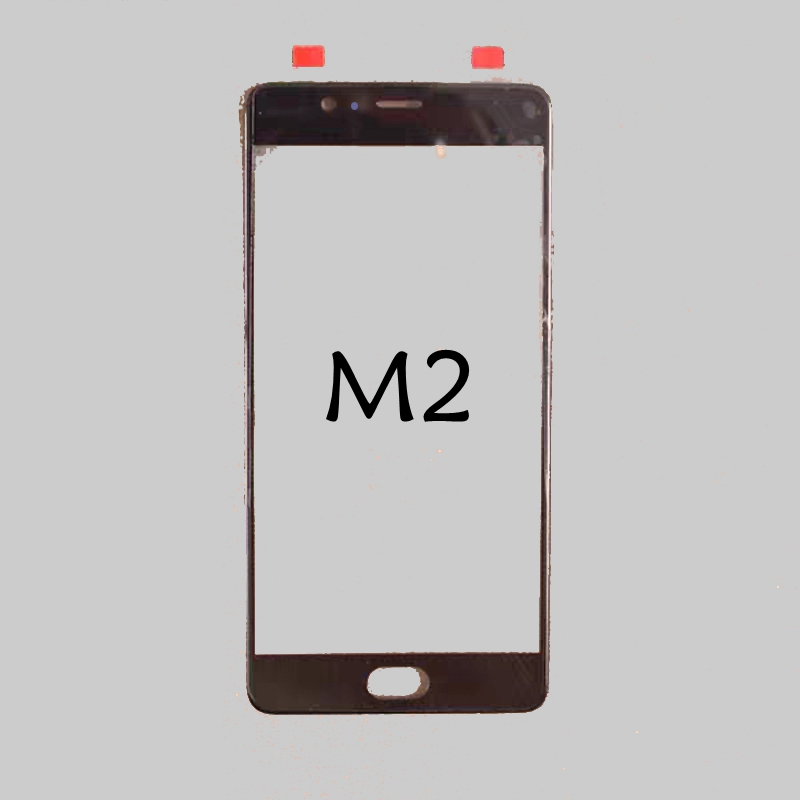 ZTE038 For ZTE Nubia M2 NX551J N2 NX575J Repair LCD outer Screen Glass Lens Touch Front Screen Panel Replacement(China)