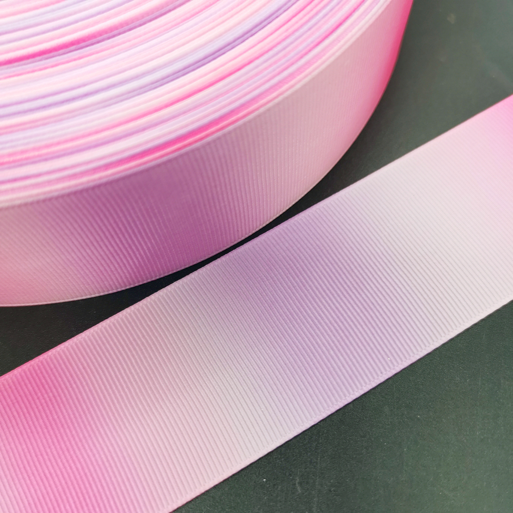 Various Colours Available Zebra Print 9mm Printed Grosgrain 3m Ribbon