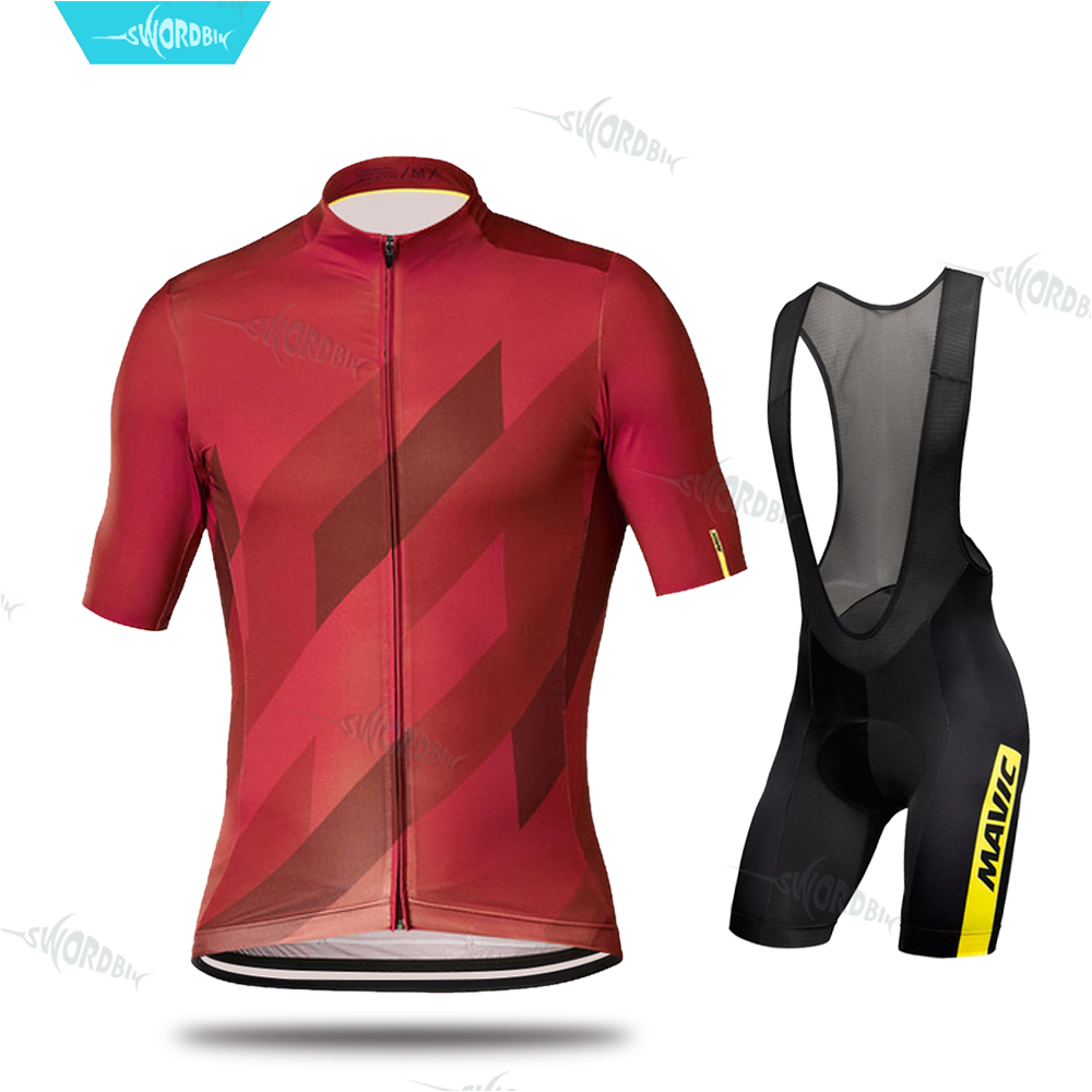 Cycling Jersey Set Bike Clothing Sets Bicycle Clothing Men 2019 Clothes Maillot Ropa Ciclismo MTB Cycling Kit Triathlon Skinsuit