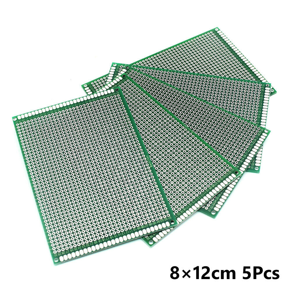 Double-Sided PCB Circuit Board Prototype Breadboard For ARDUINO DIY Project 584 Electric Pad Home Tools