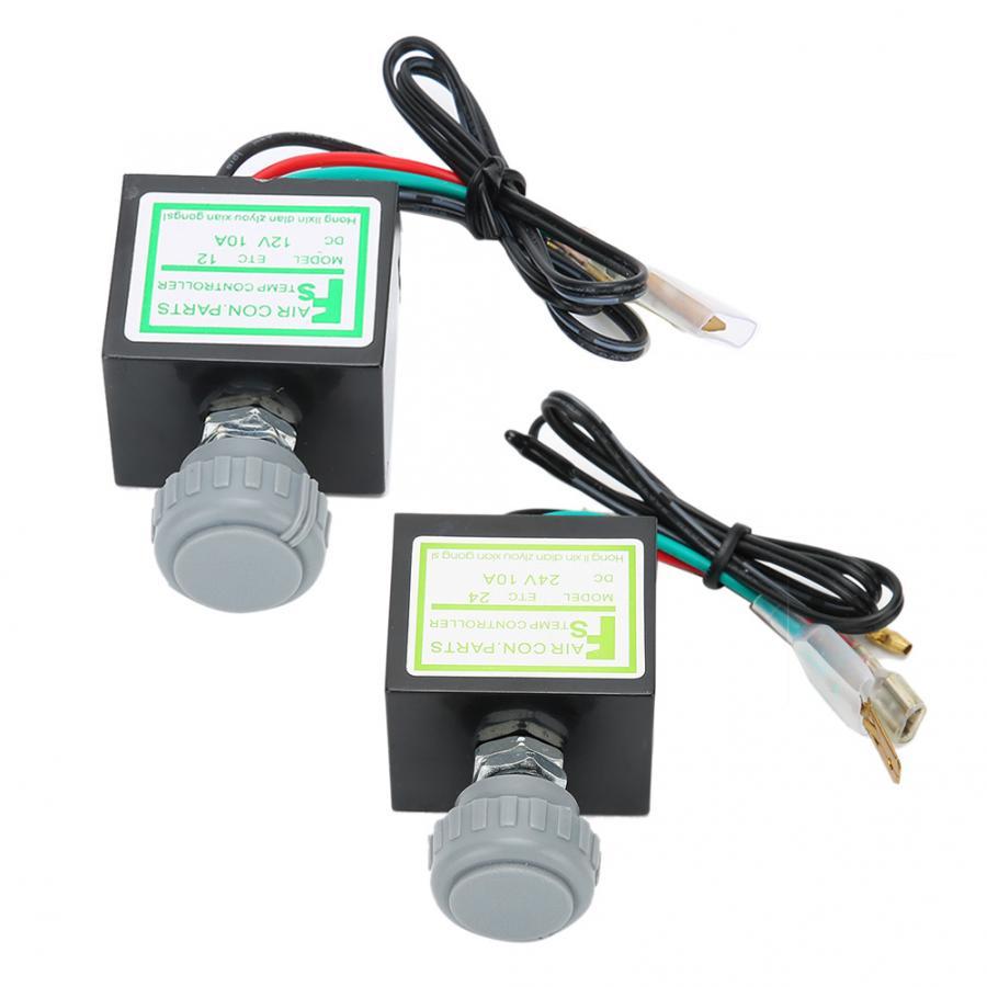 10A Auto Klimaanlage Elektronische Thermostat Schalter Temperatur Control Auto Zubehör Auto Zubehör brems sensor