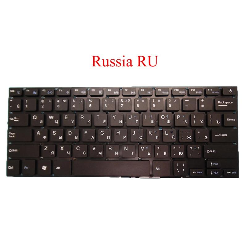 Laptop Keyboard For Irbis NB14 NB41 NB42 NB43 NB44 NB46 NB50 NB61 Russia RU English US Brazilian BR Arabia AR New Original-in Keyboards from Computer & Office    1