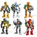DECOOL Hero Factory 3,0 Роботы Bionicle экшн-фигурки модель строительные блоки кирпичи игрушки для детей Подарки для мальчиков Прямая поставка