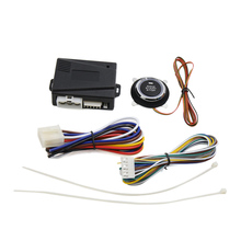 OBD2 AUTO Smart Auto Motor Alarm Finger Push Starter Keyless Entry System Gehen Push Button Start Stop