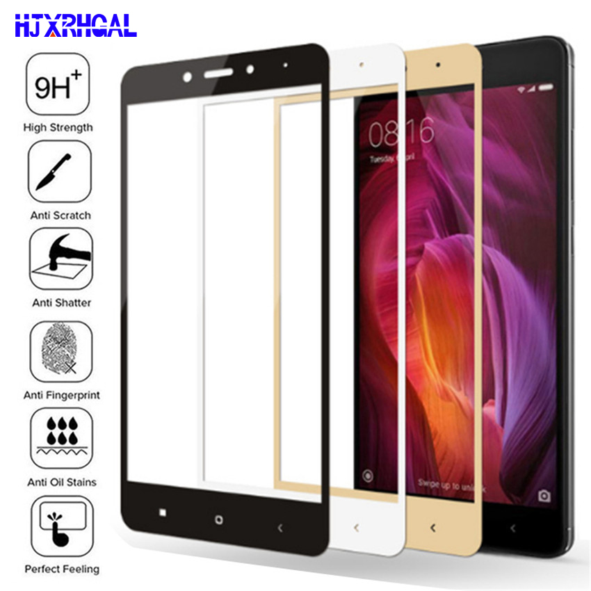 9D Protective Glass On The For Xiaomi Redmi 4A 4X 5A 5 Plus 6 6A 7A Redmi Note 4 4X 5 Pro Tempered Glass Screen Protector Film