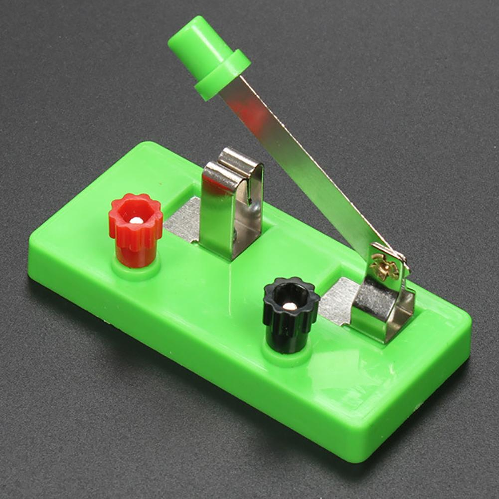 Single Pole Throw Switch Laboratory Equipment Teaching Supplies Tool Education Kids Toy