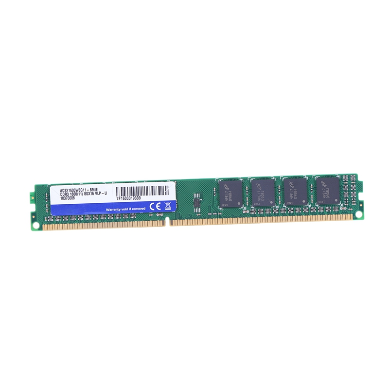 DDR3 8GB Memory Ram PC3 12800 1600MHz 1.5V 240 Pins Dual Channel Desktop PC Memory for Intel High Compatible image