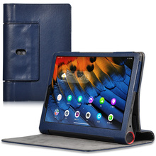 цена на Cover For Lenovo Yoga Smart Tab 10.1 inch Tablet Case YT-X705F YT-X705M PU Leather Flip Stand Shockproof Protective Cover Case