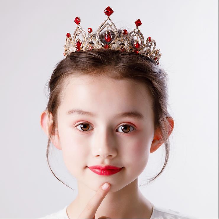 3Pcs Hair Hoops Fashion Headdress Kids Crown Elegant Hair Comb for Kids Children