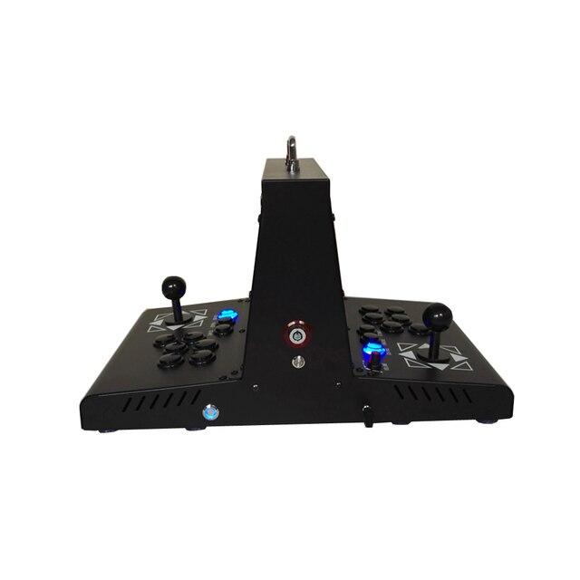 Mini machine darcade de jeu multi daffichage à cristaux liquides de 10 pouces 1300 dans 1 boîte de pandora 6