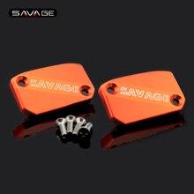 цена на Motorcycle Front Brake Clutch Reservoir Cap Cover For KTM SX EXC XCF SXF XC XCFW XCW 125 150 200 250 300 350 400 450 500 530