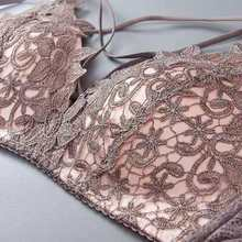 fashion bras for women gathered wire free sexy thin small chest anti-sagging beautiful back push up bra lingerie