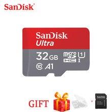 SanDisk Cartão de Memória A1 16GB gb 64 32GB 128GB 200GB 256GB 400GB cartão Micro sd Class10 UHS-1TB cartão de Memória flash Microsd TF/Cartão SD