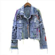 New Women's Denim Jacket Coat 2019 Jean Jackets Women Coats
