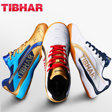 TIBHAR Table Tennis Shoes with Original box Lightweight comfortable wear resistant professional ping pong  Sneakers Sport Shoes