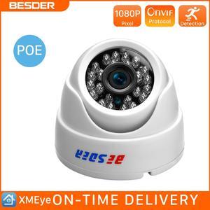 Image 1 - BESDER 2.8MM רחב זווית IP מצלמה 720P/1080P P2P H.264 Onvif קטן כיפה מעקב וידאו מצלמה RTSP 48V POE XMEye