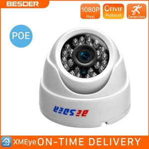 Image 1 - BESDER 2.8MM Wide Angle IP Camera 720P/1080P P2P H.264 Onvif Small CCTV Indoor Dome Surveillance Video Camera RTSP 48V POE XMEye