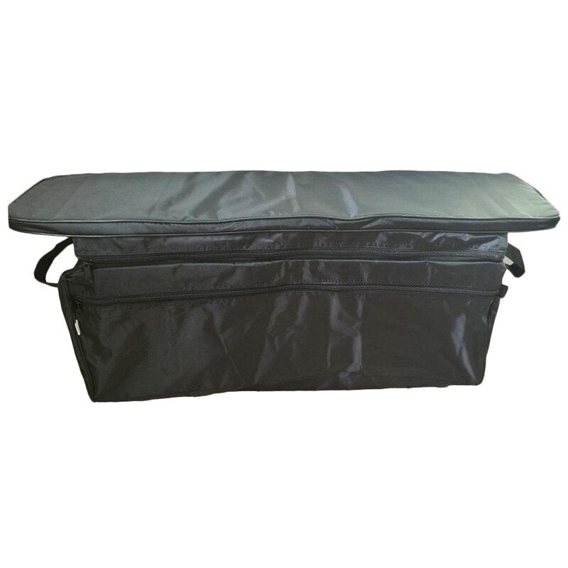 Canoë sac de rangement de siège de bateau gonflable avec coussin de siège rembourré