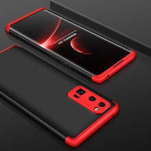 цена на 360 Full Protection Case For Huawei Honor 30 Pro Case 3 in 1 Matte Hard Plastic Back Protective Cover Case For Honor 30