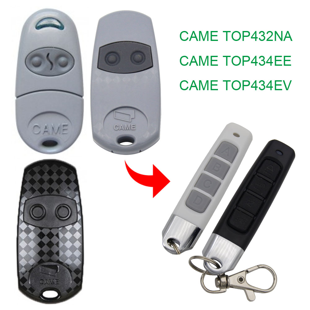 Copy CAME TOP432NA Remote Control 433.92mhz  Copy CAME TOP 432NA 432EE 432EV Gate Garage Door CAME TOP-432NA Remote Control