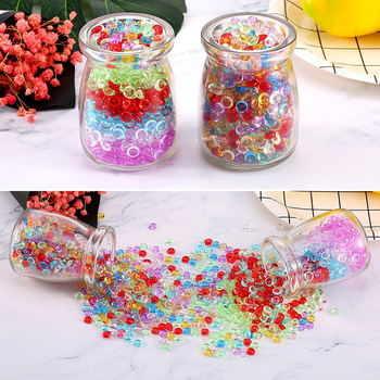 10,000 shots per pack, crystal baby, water absorbing bomb, water absorbing beads, bubble beads image