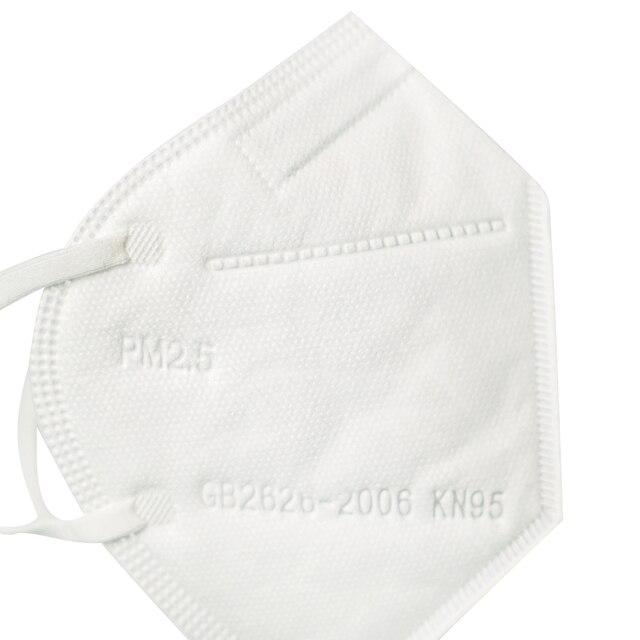 4 pcs KN95 Anti-Flu Virus And Dustproof Unvalved Reusable 6-layer Face Masks Lot 99% Filtration N95 Masks Features as KF94 FFP2 2