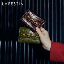 La festi 2020 новый модный ретро короткий кошелек женский кожаный
