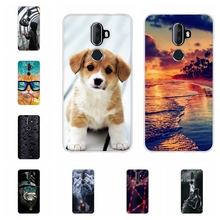 For Alcatel 3V Protective Case Ultra Thin Soft TPU Silicone Cover Beach Patterned Bumper Shell