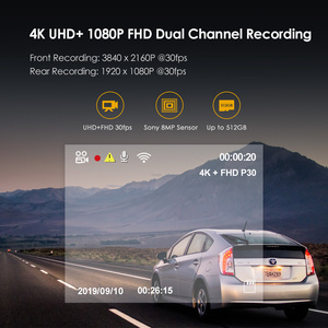 Image 4 - A129 Pro Duo VIOFO 4K Dual Dash Cam Ultra HD 4K for Road Front Newest 4K DVR Super Night Vision car camera with GPS and HK3