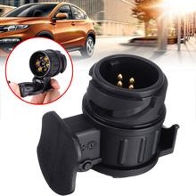 New Arrival 7 Pin To 13 Caravan Adapter Towbar Towing Socket Electrical Converter Trailer Connector