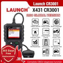 LAUNCH X431 CR3001 obd2 professional automotive scanner OBDII Code Reader Car Diagnostic tool engine off Russian language elm327