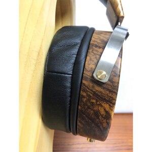 Image 3 - 105mm Large Headphone Housing Open Type Headset Headphone DIY Customized Wood Headphone Shell Case