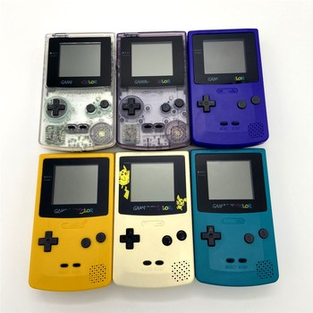 Nueva carcasa reacondicionada para GameBoy COLOR GBC Console machines Recreational Palma game