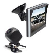 Автомобильный монитор 5 дюймовый экран 800*480 2 полосный видеовход