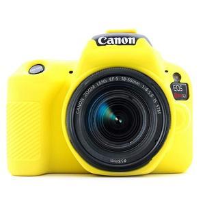 Image 4 - Silicone Armor Skin Case Body Cover Protector for Canon EOS 200D Mark II 250D Rebel SL2 SL3 DSLR Camera