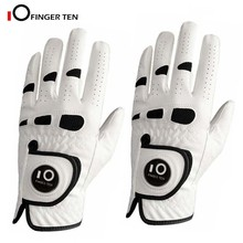 Golf-Gloves Ball-Marker Weather-Grip Breathable Hand-All Men's Cabretta with Left Right